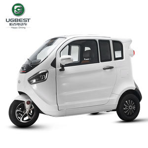 Three-wheeled street legal moped 1500 watt micro electric car