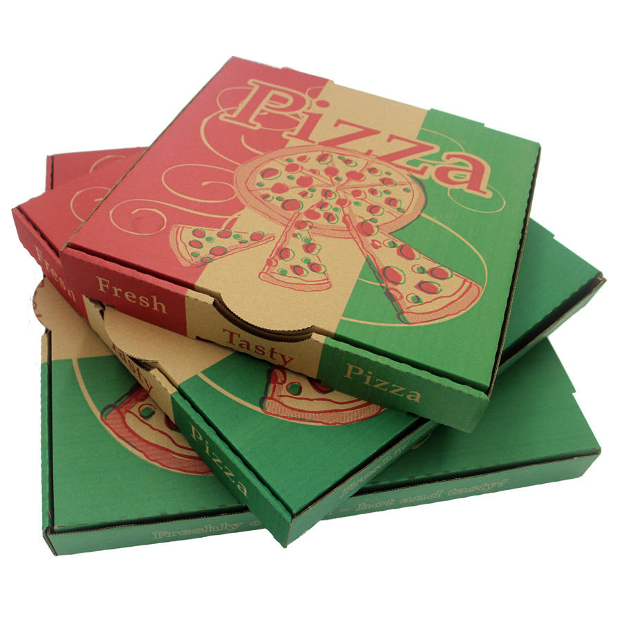 Custom printing logo pizza box 9inch europe AU US MARKET