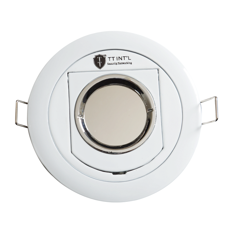 2mp Hd Plafond Mount Spot Light Verborgen Camera Met Spiegel Glas Infrarood Nachtzicht Voor Covert Camera Cctv Camera Hd
