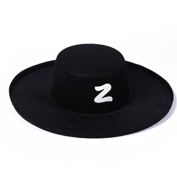 <span class=keywords><strong>Puntelli</strong></span> di <span class=keywords><strong>Halloween</strong></span> per bambini zorro costume cappello