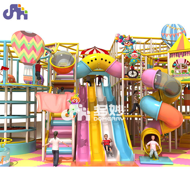 circus theme kids indoor fiberglass playground equipment playground amusement park equipment indoor