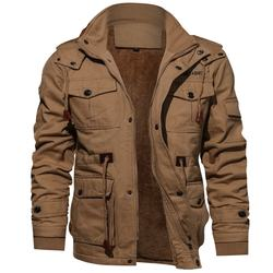 2020 High Quality Military Mens Pilot Jacket Winter Fleece J