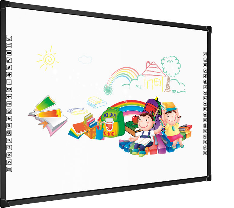 82 inch multi-touch Metal-Nano Board Surface and No Folded interactive whiteboard
