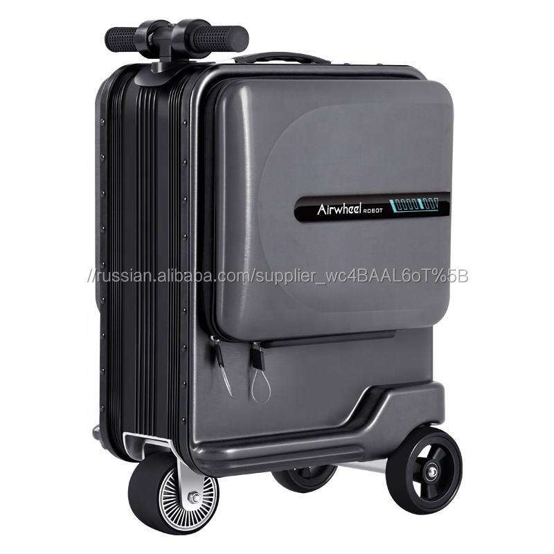 Airwheel SE3 смарт-Камера Чемодан деловые сумкиогофункциональная дорожная ручная кладь чехол Электрический чемодан самокат