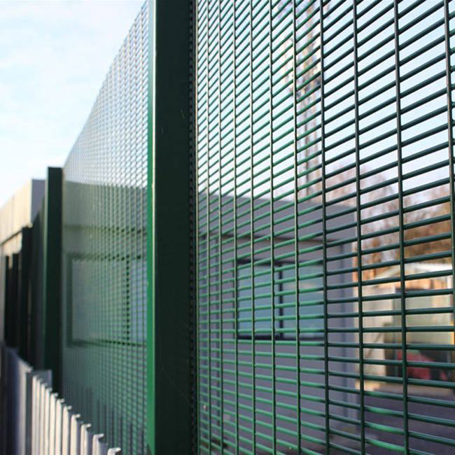 low carbon steel construction 358 Security Fence with good quality
