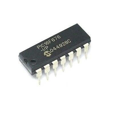 8-Bit CMOS MCU Nanowatt PIC12F683-I//P 8-Pin basados en Flash