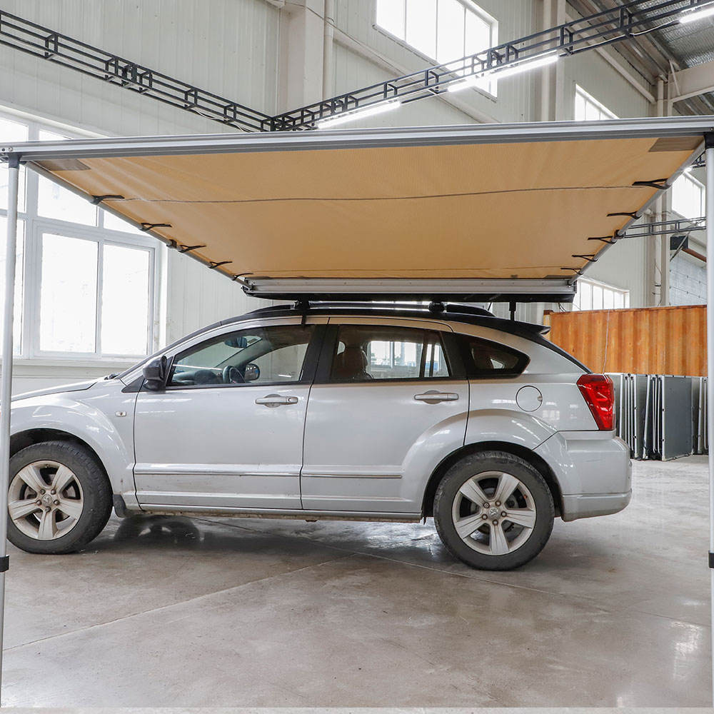 Wholesales Price Outdoor Camping 4x4 Offroad Adventure Car Sun Shelter Roof Top Awning with Fast Delivery Time