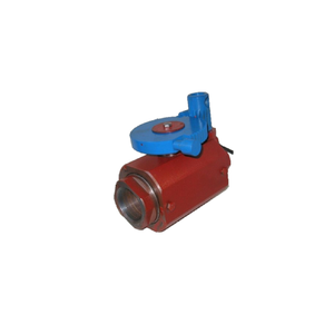 Ball valve for repairing gas and oil wells