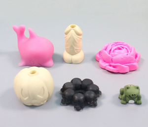 food grade Penis shapes tumbler crafts straw topper mold silicone soap