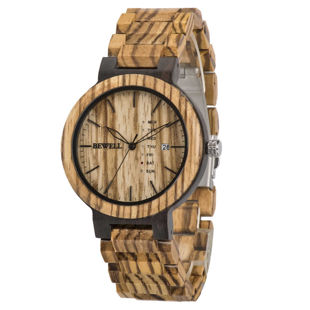 Gifts Mens Fashion Luxury Design Men Wristwatches Man Custom Logo Wood Grain Wooden Box For Watches