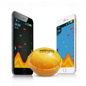 Wholesale Underwater Wireless Fish Finders Transducer, Smart Bluetooth Cellphone Full HD Wifi Mobile Phone Fish Finder