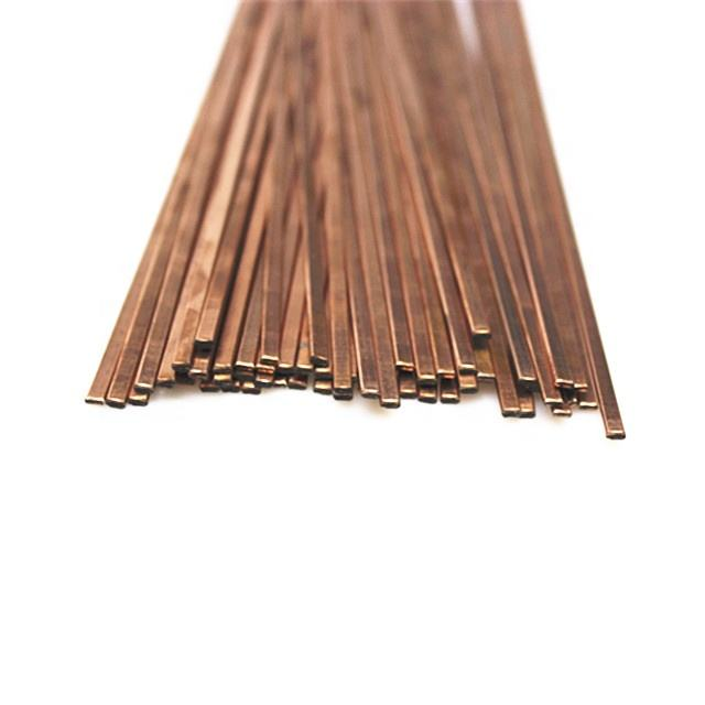 Welding rod 0% silver BCuP-2 Copper phosphor brazing flat rod