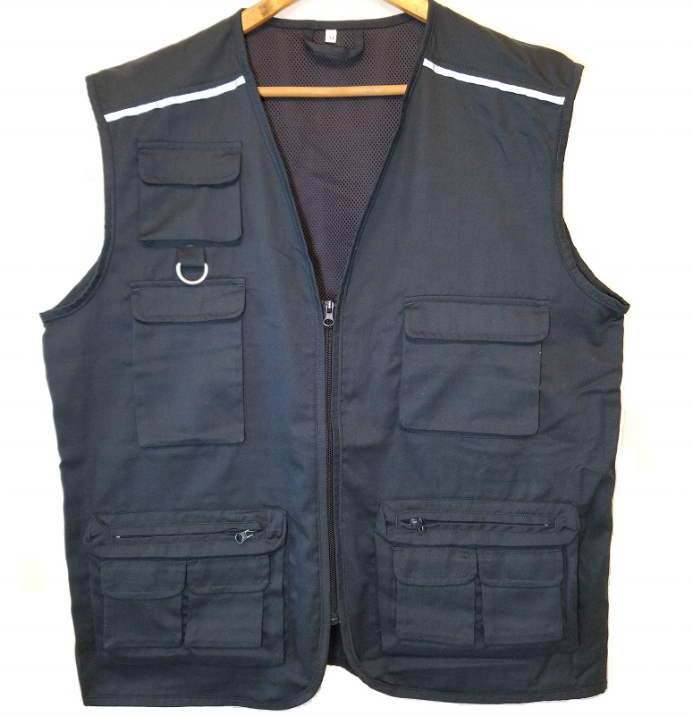 High visible Allround photograph waistcoat HI VIS Trucker working vest Outdoor fishing vest Hunting kidney protection waistcoat