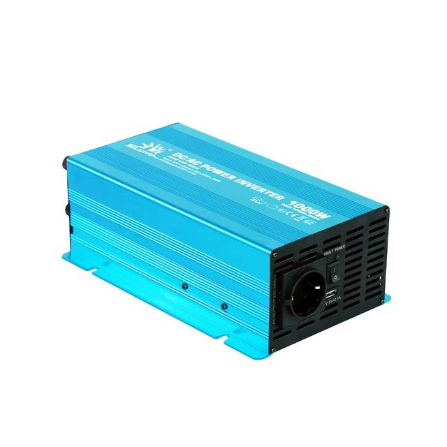 New design DC to AC Power Inverter 12v 24v to 110v 220v 1000 watt Pure Sine Wave for Home Appliances