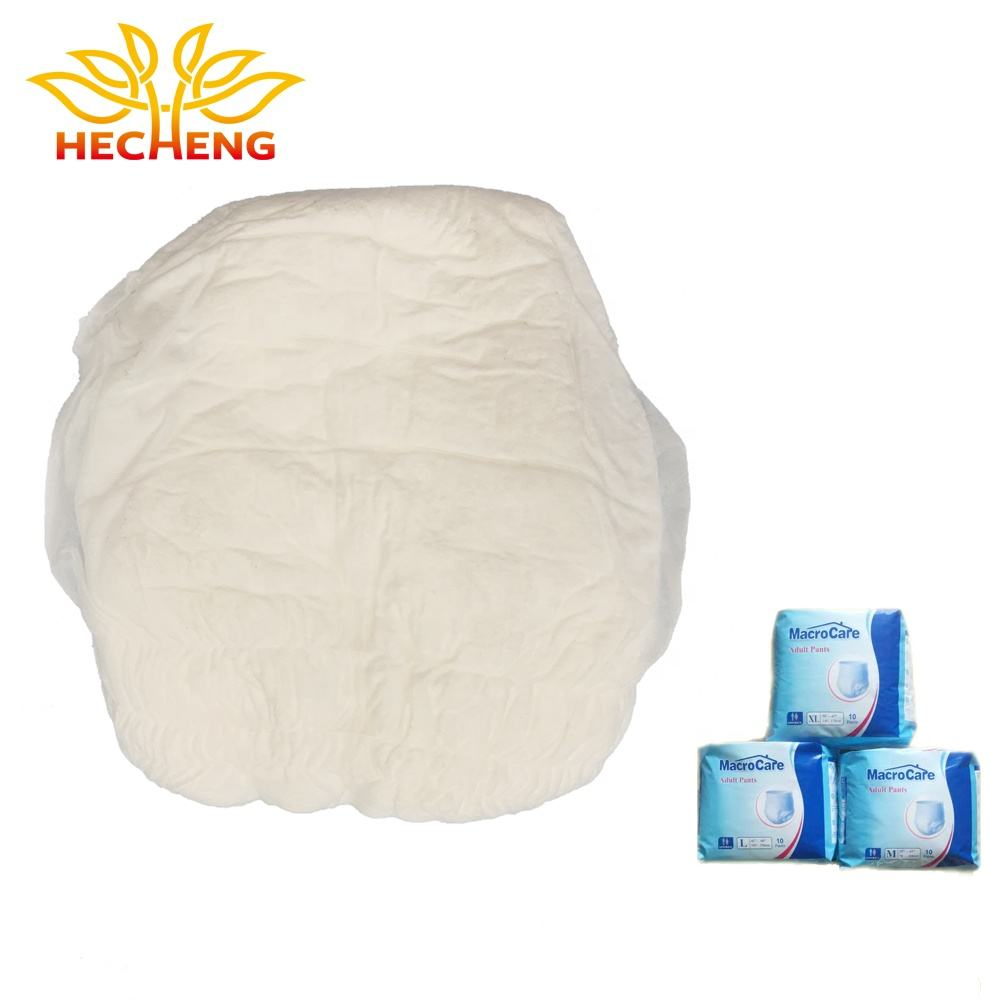 Cotton Material and Baby,Adult Age Group Disposable Pants Diaper