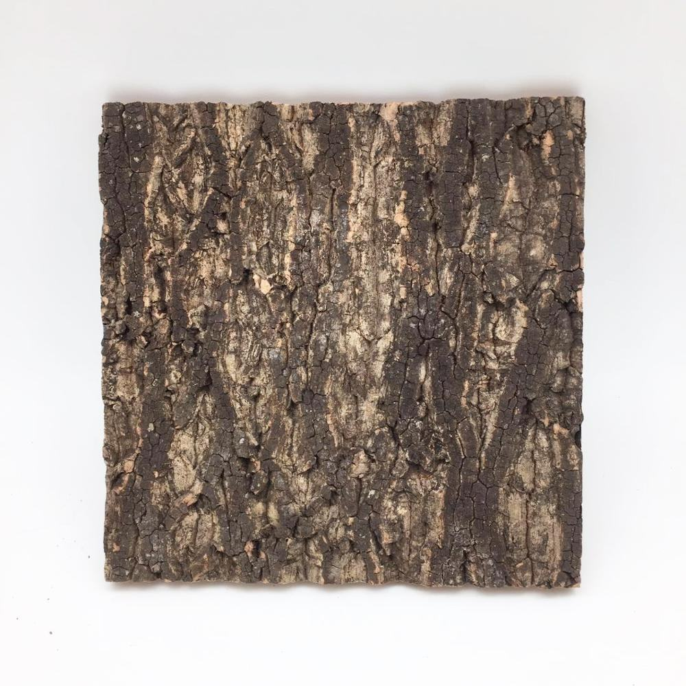 Virgin Bark Cork Background 30cm width x 30cm Length Natural Cork Bark Tiles for Interior Wall Decoration