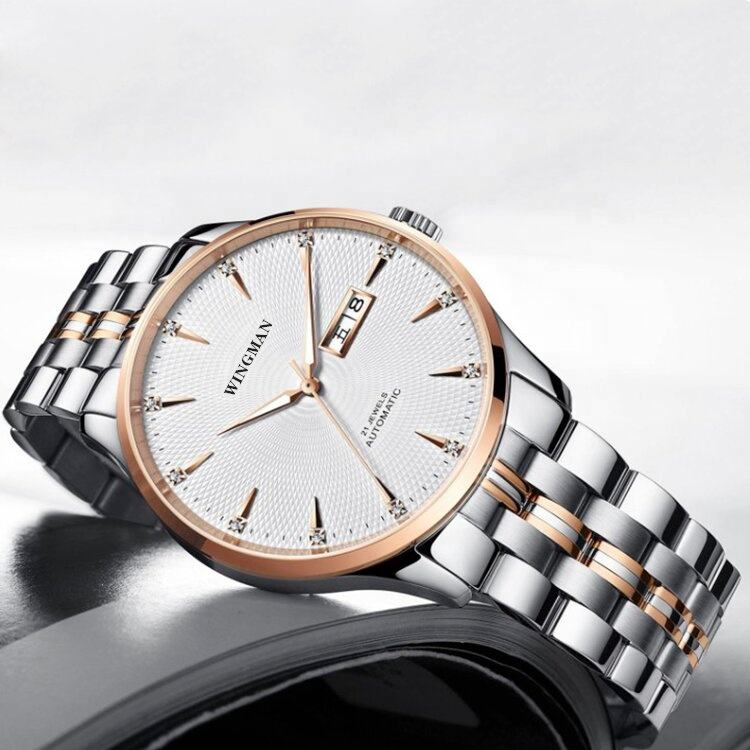 Luxury Fashion Men's Mechanical Watch With MIYOTA 8205 Movement 316L Stainless Steel Sapphire Glass Automatic Watch
