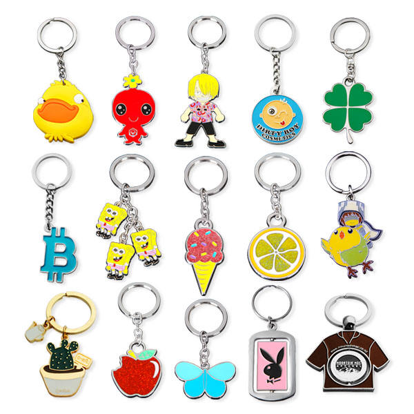 One-Stop Service Diy Keychain Keychain Manufacturer Directly Customized Wholesale Design Logo Kinds Cute Diy Gift Keychain Key Ring