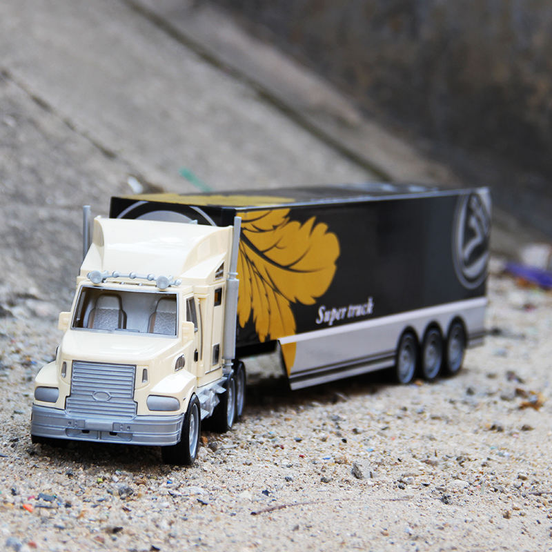 Merchandising Promotional Gift Toy Container Truck Model