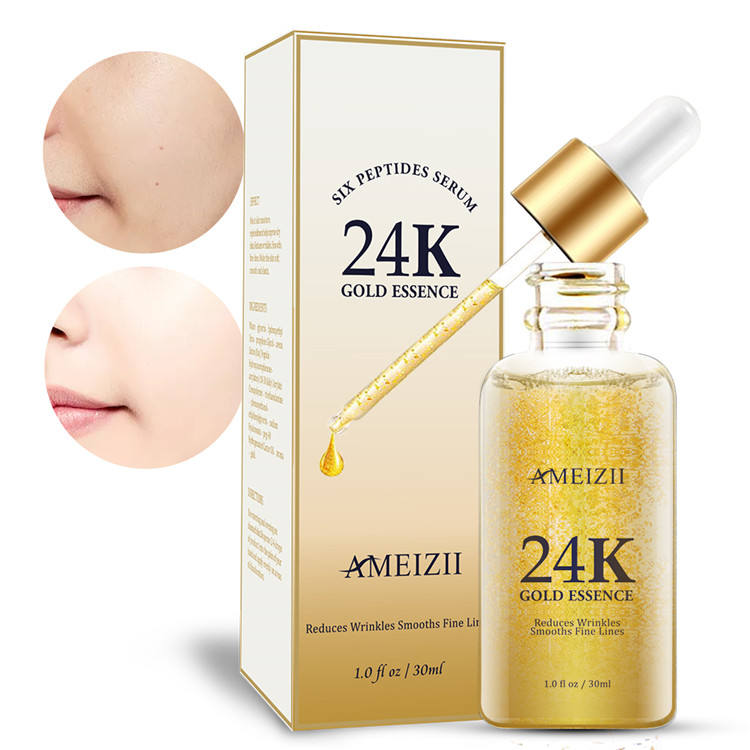 New Design Korea Skin Care 24K Gold Serum Skin Whitening Supplements Moisturizing Cosmetics Beauty Facial Private Label