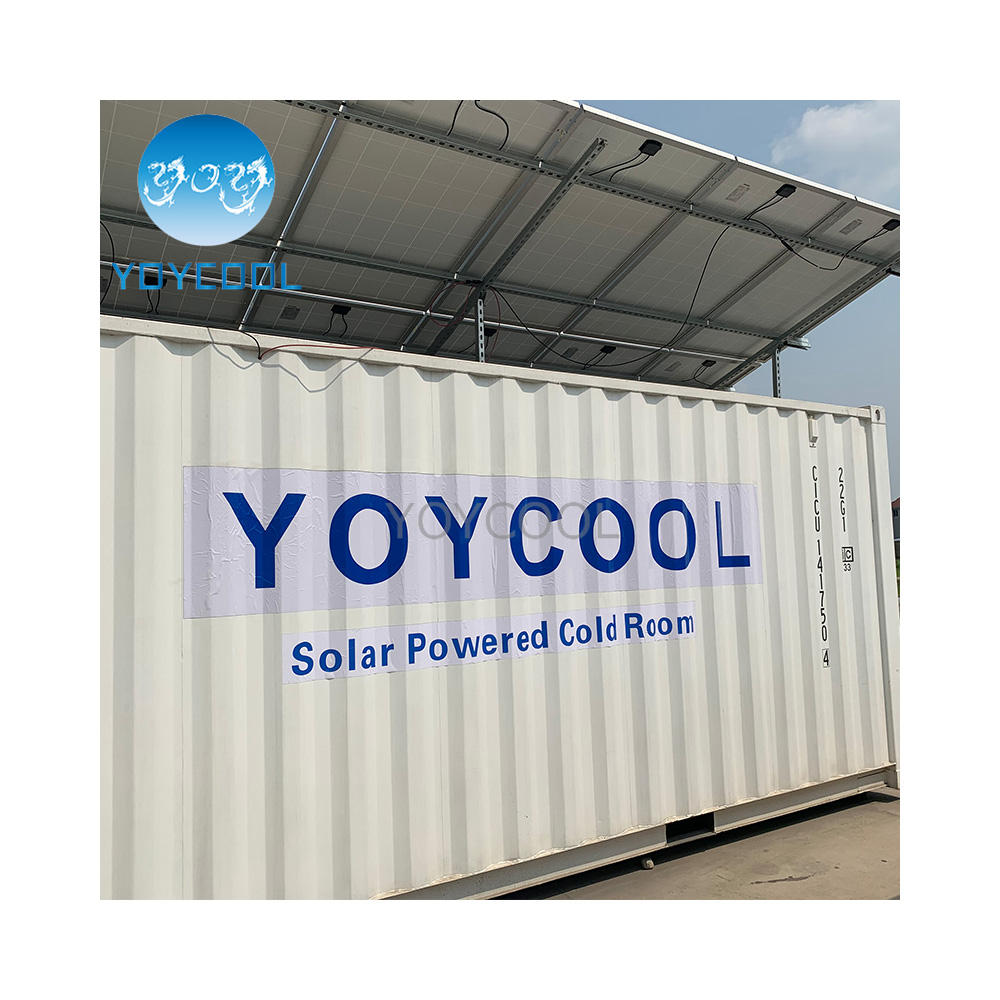 solar cold room export to Benin solar cold storage room for tomato Portable refrigerated container
