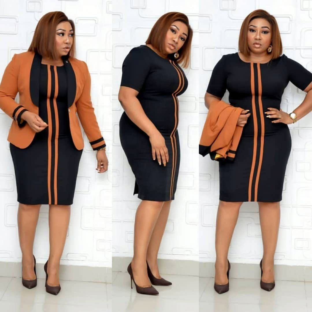 Size 38-44 Africa Women Clothes Plus Size Office Ladies Coat And Dress Suits Wholesale China