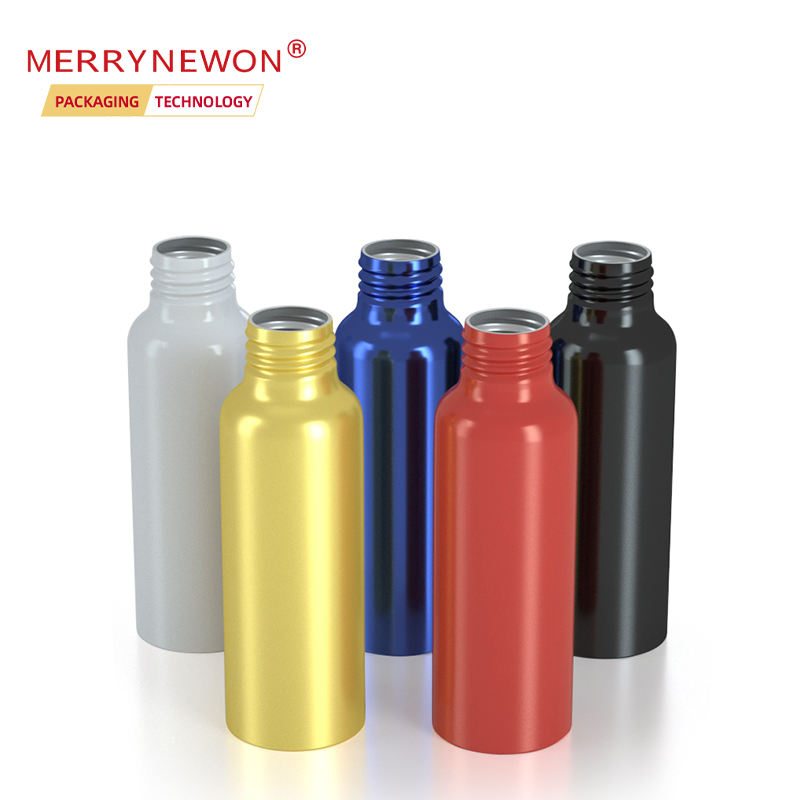 Hot Cosmetic Empty 60ml Aluminum Spray Bottle Can support customization