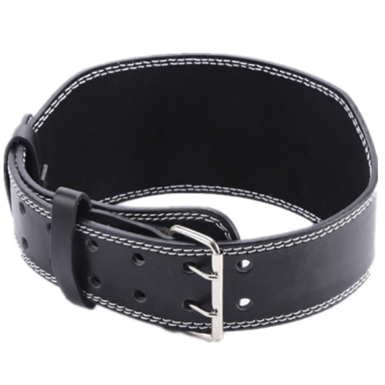 High Quality Heavy Duty Gym Fitness Workout Power Weight Lifting PU Leather Belt for Men Women