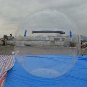 Low price water zorb ball PVC clear inflatable aqua sphere for walking