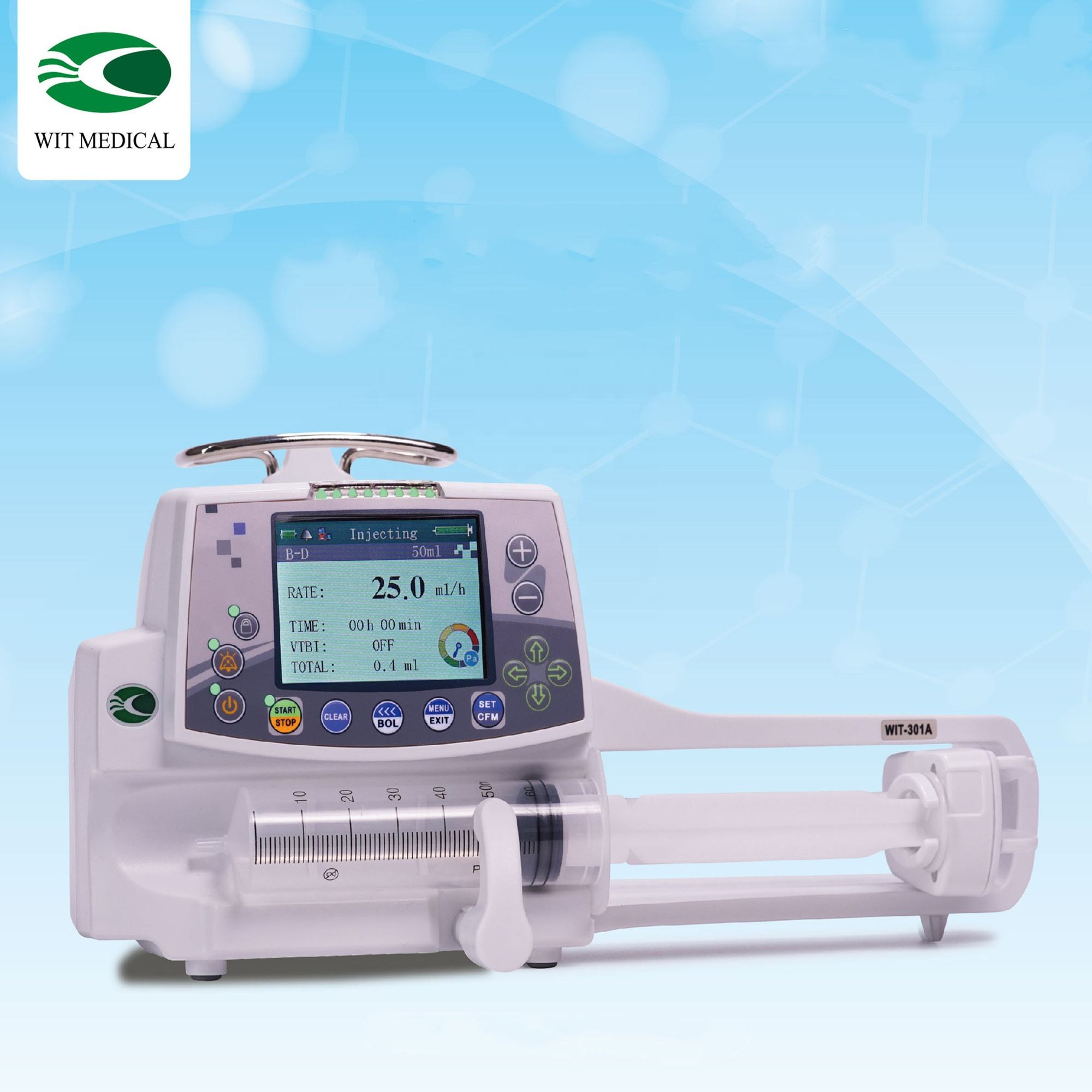 Factory Store - Medical Syringe Pump, European Standard, TUV CE & ISO13485, RoHS