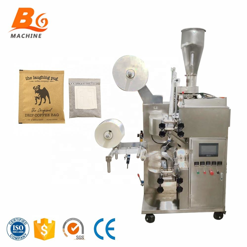 Automatic Double Chamber Filter Flower Bag Tea Packaging Packing Machine