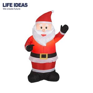 Xmas Holiday Inflatable Santa Claus, Large Commercial Christmas santa outhouse christmas inflatable decoration