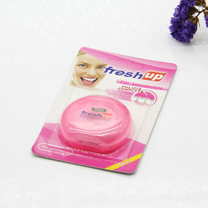 abrasive colored dental floss children like plastic flower floss