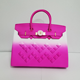 Newly launched luxury lady's handbag solid color