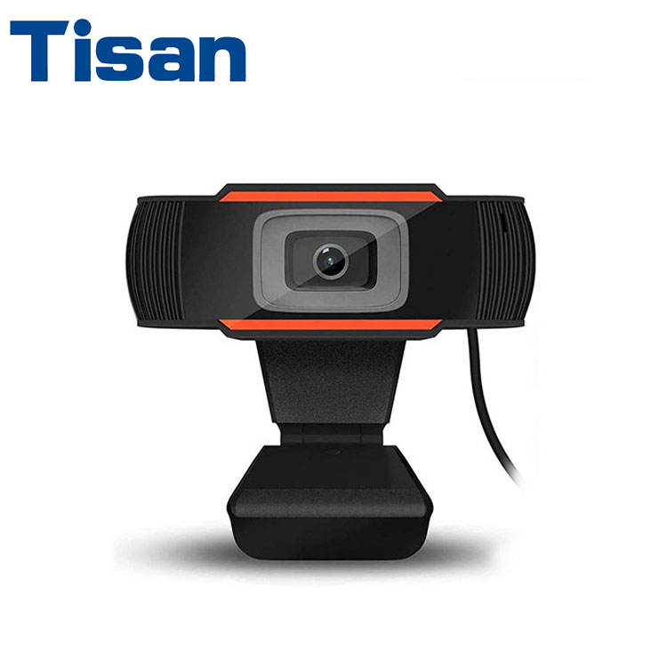 Wholesale USB camera Full HD 1080P Webcam Video calling recording with Microphone Rotating true color images WebCamera