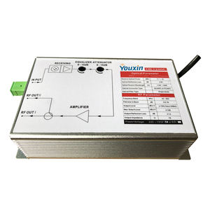 Indoor AGC 1550 WDM Mini Serat Receiver FTTH RF Penerima Optik