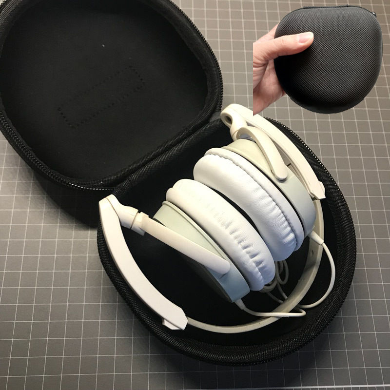 Original Portable Hard EVA travel Protective Case For Headphones Pouch Storage Box