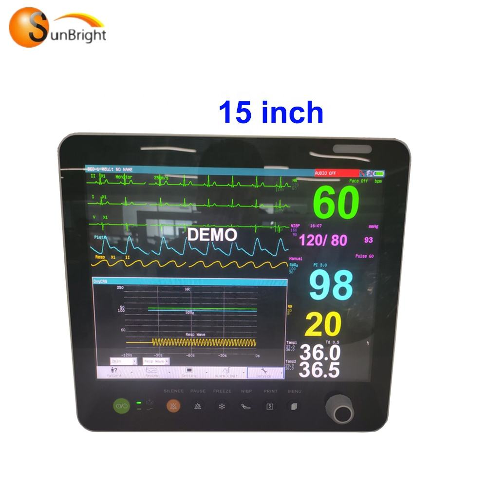 China Vital Sign Monitor Portable WIFI Central Monitoring Vital Sign Monitor SUN-700S