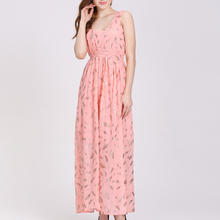 Casual Maxi Long Dress Pink Express Dresses Online For Women