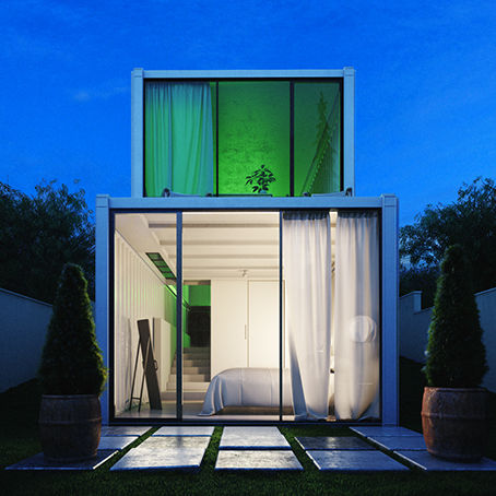 house bungalow , container cabin,modular house