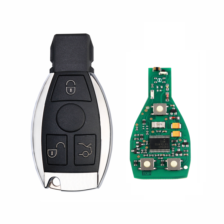 433/315 mhz Smart Remote Key Fob For Mercedes Benz after 2000 BGA replace NEC Chip
