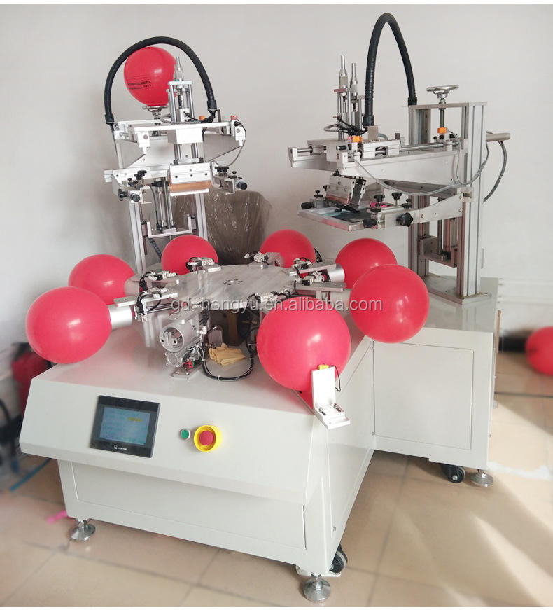 Balloon Printing Machine 2 Color Screen Printer Latex Ball Equipment Hot Sale Factory Direct