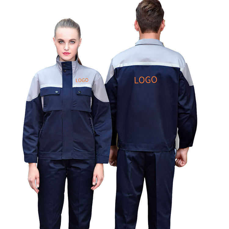 Gas Station Technician Engineering High Vis Work Uniform Jacket And Pant 4S Car Shop WorkWear Uniform