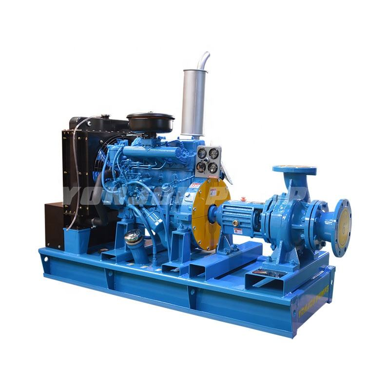 6inch diesel engine irrigation water charge suction pump