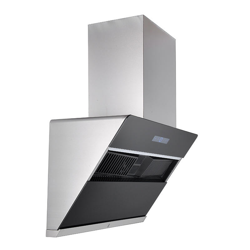 2020 new type of range hood side suction intelligent body feeling automatic cleaning household large suction range hood