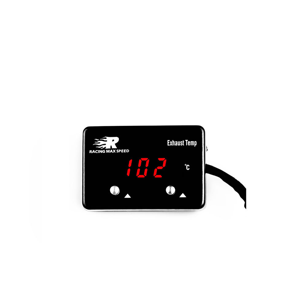 high quality 1/8 npt sensor digital exhaust temperature gauge red display,digital temperature gauge ETM-01