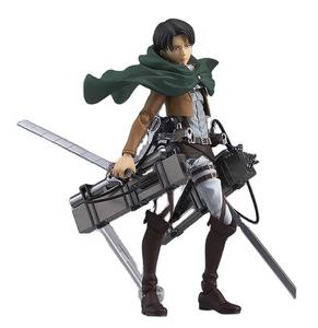 Aanval Op Titan/Shingeki Geen Kyojin Levi Ackerman 213 # Karakter Cartoon Model Speelgoed Anime Pvc Figuren