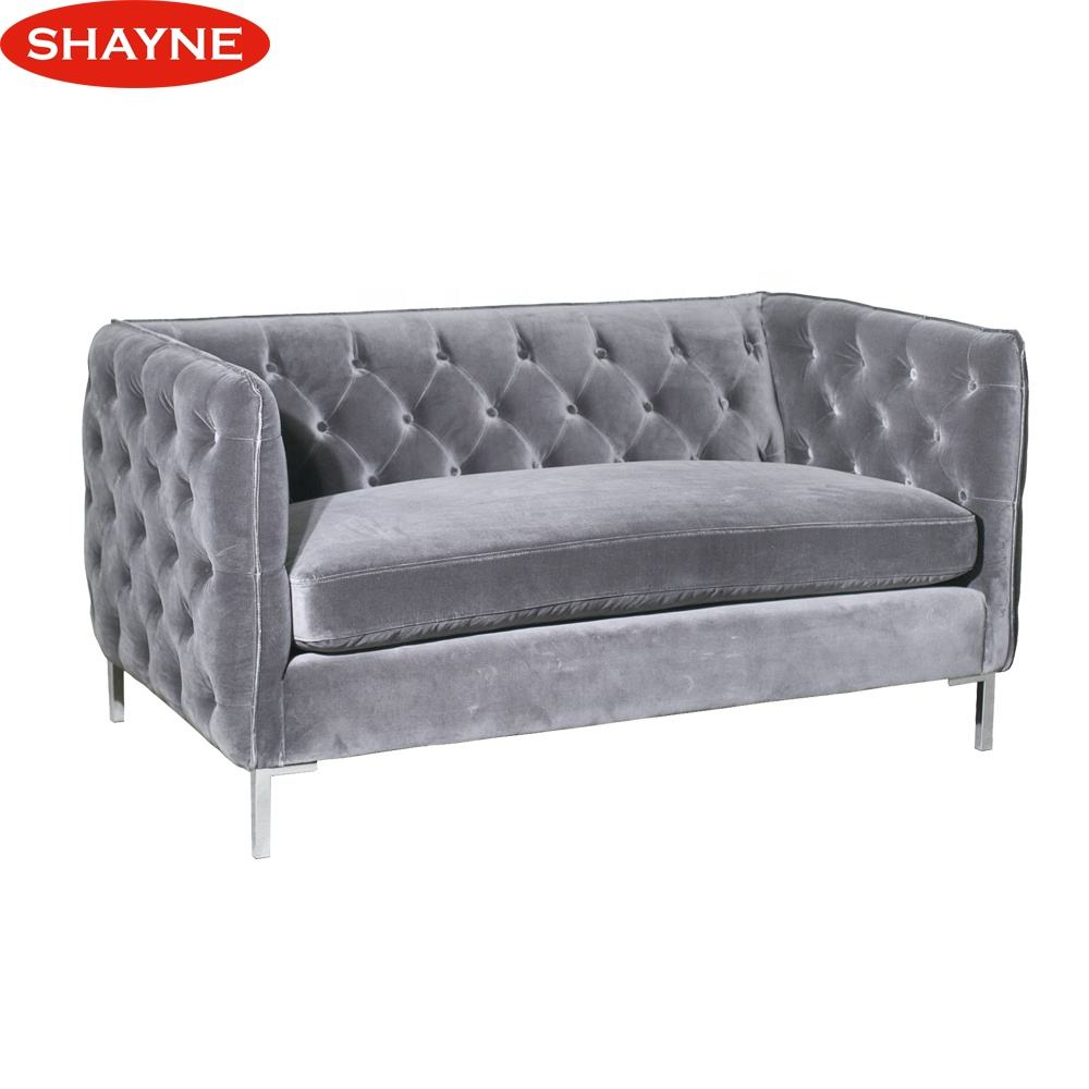 Shayne Luxury High-end Customize Furniture Contemporary Couch Living Room Track Arm Sofa