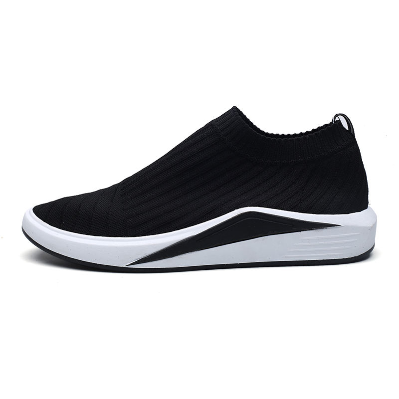 Hot Sell Comfortable knitting fabric Casual Walking Shoes