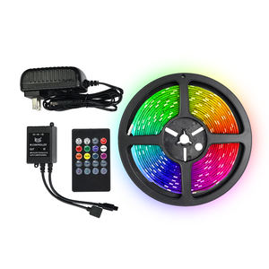 Hot APP control music sync led strip remote rgb led strip music sensor strip light for wedding concert